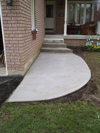 Concrete Walkway and Stair Replacement